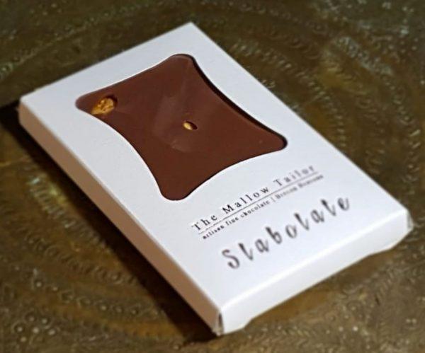 honeycomb personalised bar of chocolate