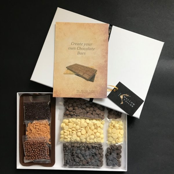 Make your own chocolate kit in gift box