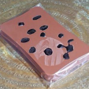 Liquorice chocolate bar