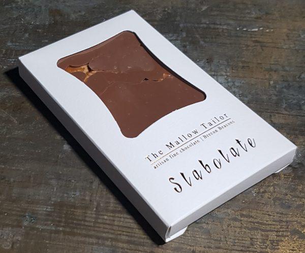 Pretzel personalised bar of chocolate