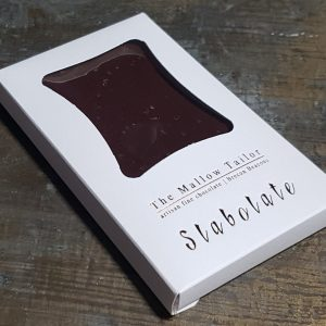 sea salt personalised bar of chocolate