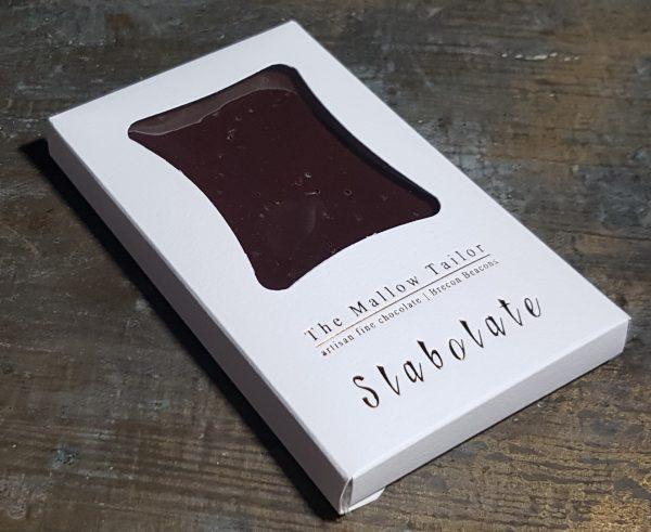 sea salt personalised bar of chocolate