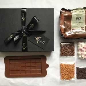 Chocolate making kits, personalised chocolate gifts from the Mallow Tailor