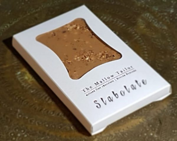 gold personalised bar of chocolate
