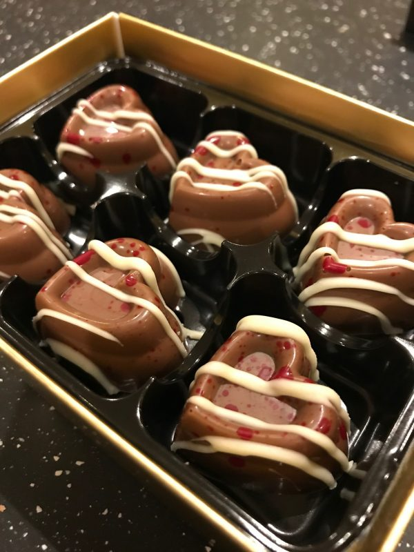 Valentines Chocolates, personalised chocolate gifts from The Mallow Tailor